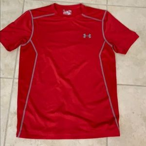 Men's under armour fitted tee